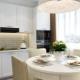 Projek dapur dengan susunan perabot