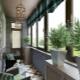 Sorten von Loggien und Balkonen