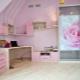 Συρόμενη ντουλάπα στο παιδικό δωμάτιο για κορίτσια