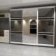 Armadio a muro nel corridoio - una soluzione elegante nel design degli interni