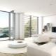 Salón blanco: hermosas opciones de diseño interior