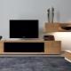 Gabinete largo en el interior de la sala de estar: características de elección y colocación