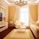 Klasiskā stila dzīvojamā istaba: skaisti risinājumi jūsu interjeram