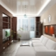 Inredning vardagsrum i Khrusjtjov: snygg design av rummet