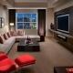 Kā apvienot krāsas dzīvojamās istabas interjerā: dizaina padomi