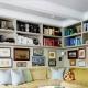 Kā izvēlēties plauktu dzīvojamā istabā: skaisti piemēri interjerā