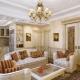 Quali dovrebbero essere i mobili per il soggiorno in uno stile classico?
