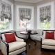 Īsie aizkari dzīvojamās istabas interjerā: izvēles iespējas