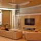 Techos de pladur para sala de estar: opciones modernas en el interior.