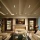 Dzīvojamās istabas griestu dizaina smalkums