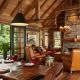 Dzīvojamās istabas dizaina nianses lauku stilā