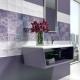 Σχεδιασμός μπάνιου με πλακάκια πασχαλιάς