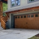 Garage swing gates: types of materials and stages of installation