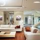 Dzīvojamās istabas izsmalcinātība mūsdienīgā stilā