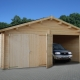 Build a wooden garage with your own hands