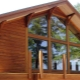 Larch block house: selection and characteristics