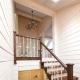 ¿Cómo enfundar la casa de madera de la tablilla desde el interior?