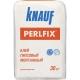 Adhesivo Knauf Perlfix: características y especificaciones