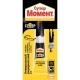 Super Moment Glue: características y aplicación.