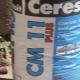 Características y aplicación del pegamento Ceresit CM 11.