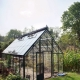 What do English-style greenhouses look like?
