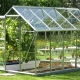Methods for the manufacture of greenhouses from metal profiles