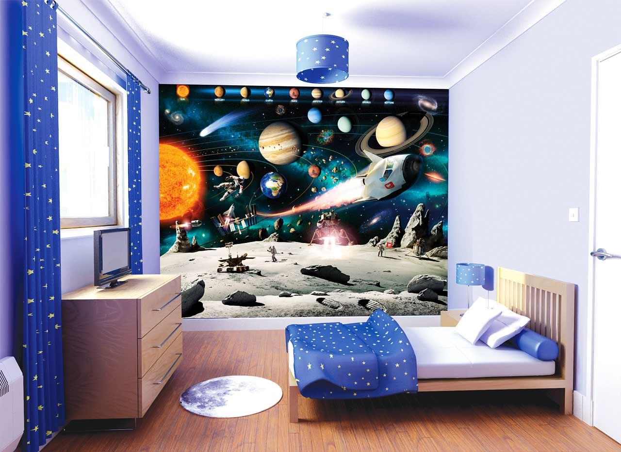 3D Kindertapete (49 Fotos): Tapeten an der Wand im Zimmer ...