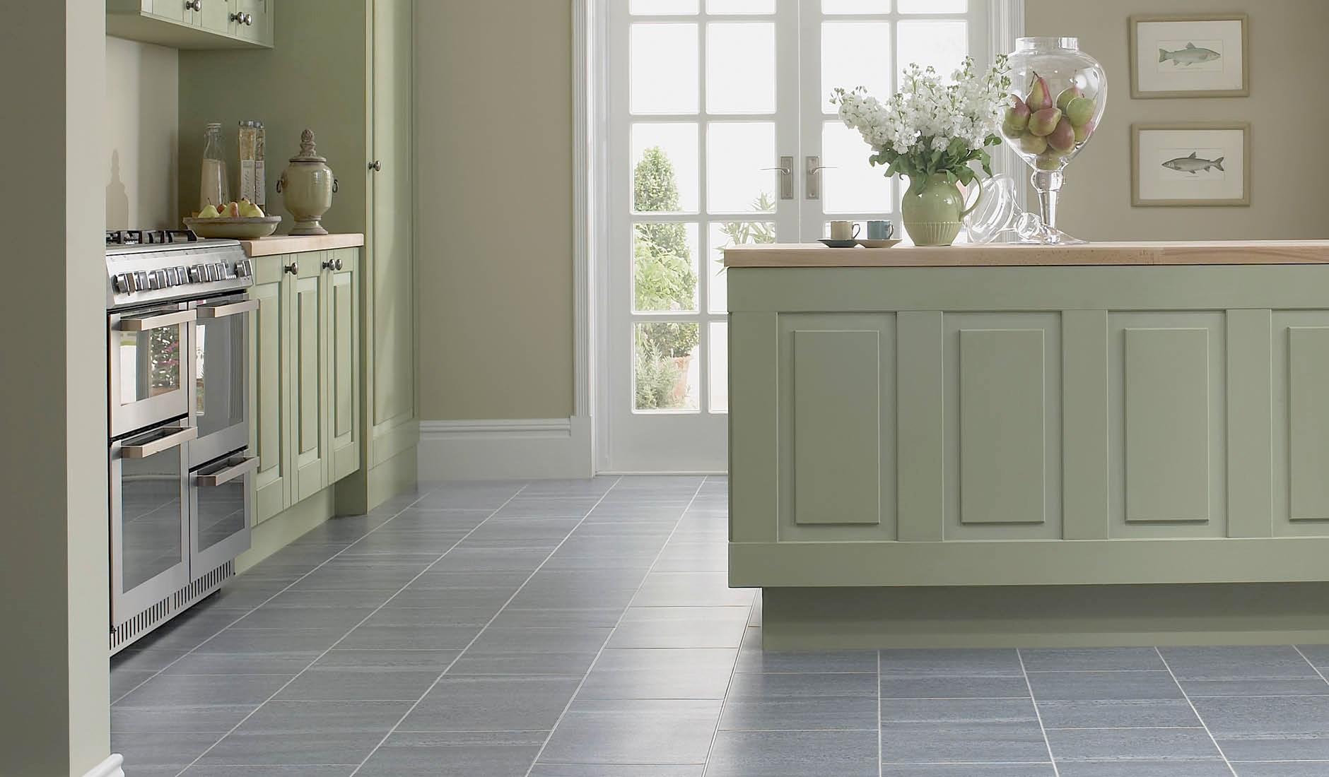 Design der Bodenfliesen in der Küche (70 Fotos): beige ...