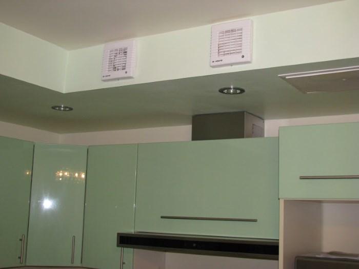 Kipas Ekzos Untuk Dapur Model Saluran