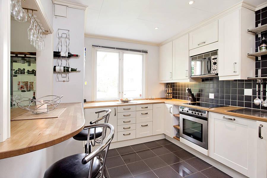Profondità dei mobili superiori in cucina: in cucina