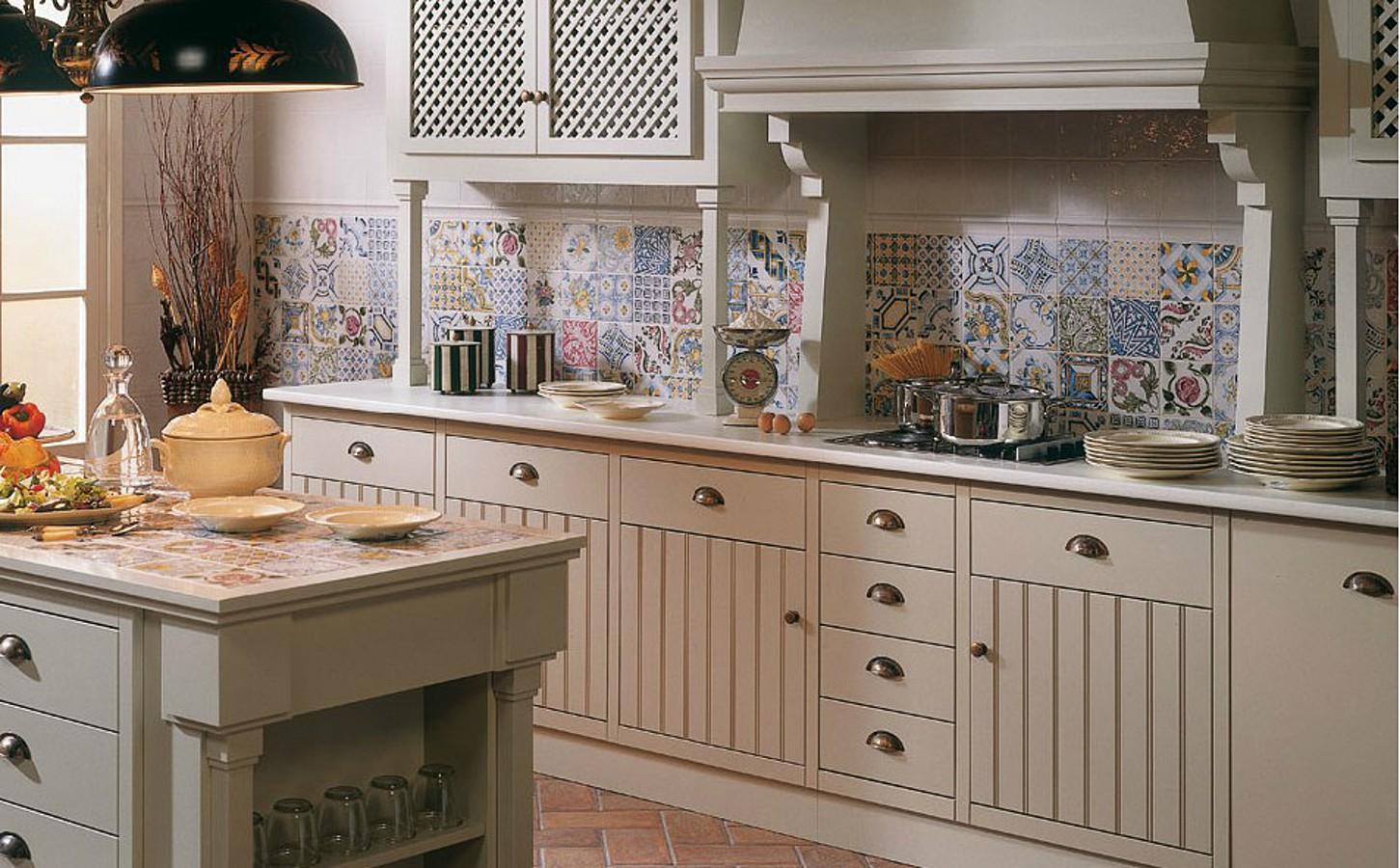 Piastrelle spagnole per cucina: piastrelle in ceramica della ...