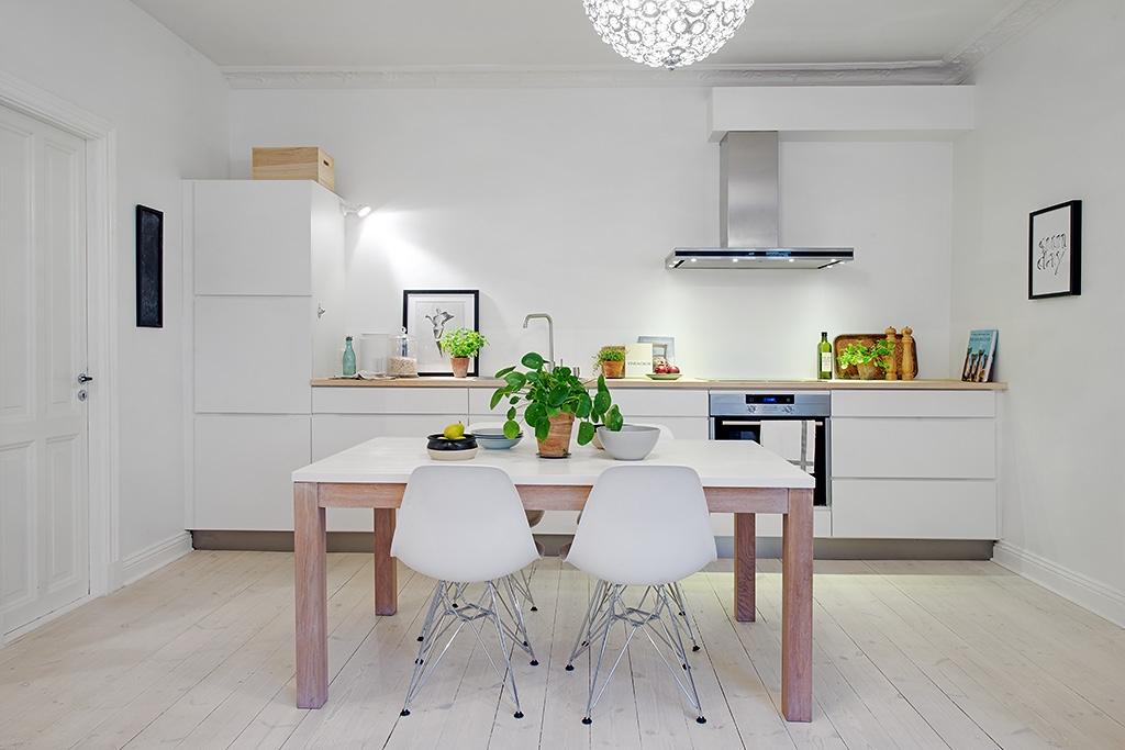 Cocina sin gabinetes superiores (61 fotos): juegos de cocina ...