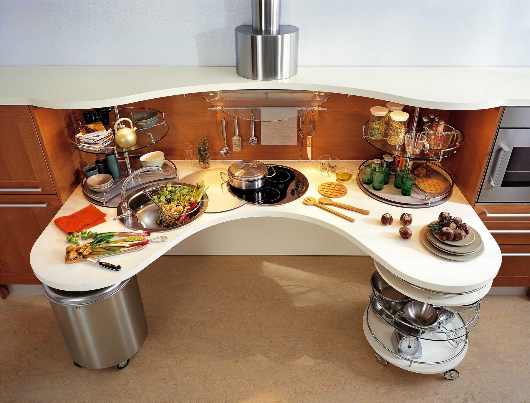 Muebles para cocina pequeña (47 fotos): cocina elegante ...