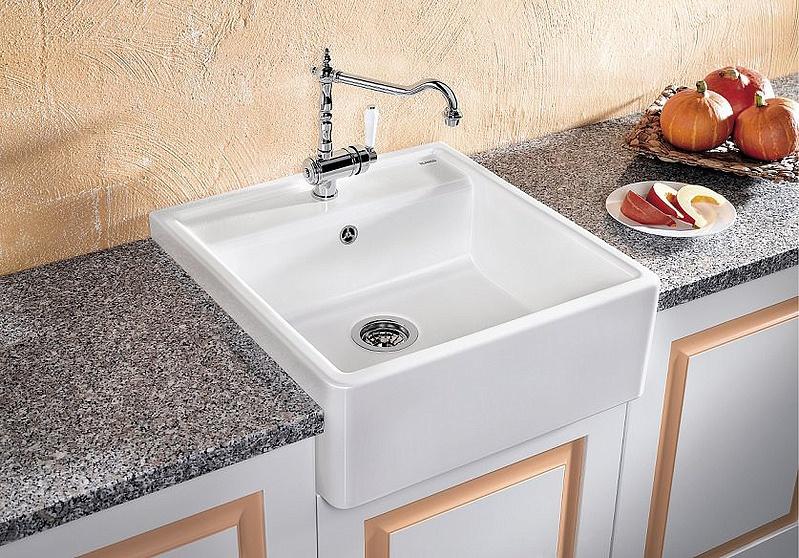 Cucina di Blanco (44 foto): come pulire lavandini e ...