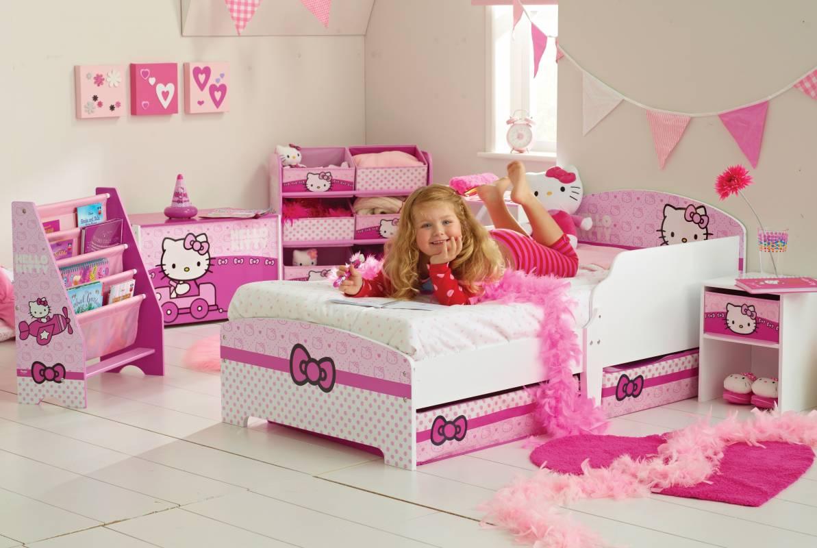 Katil Kanak Kanak Puteri Dan Kereta Mcqueen Dan Hello Kitty Nemo Dan Winnie The Pooh Masha Dan Bear Dan Lain Lain