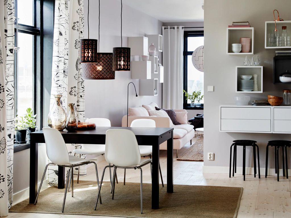 Mesas de comedor y sillas para la cocina (44 fotos): grupo ...