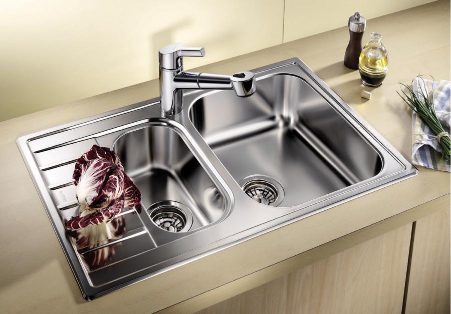 سيفونات لأحواض المطبخ مع فيضان كيفية تجميع الحوض في المطبخ مع رقبة كبيرة