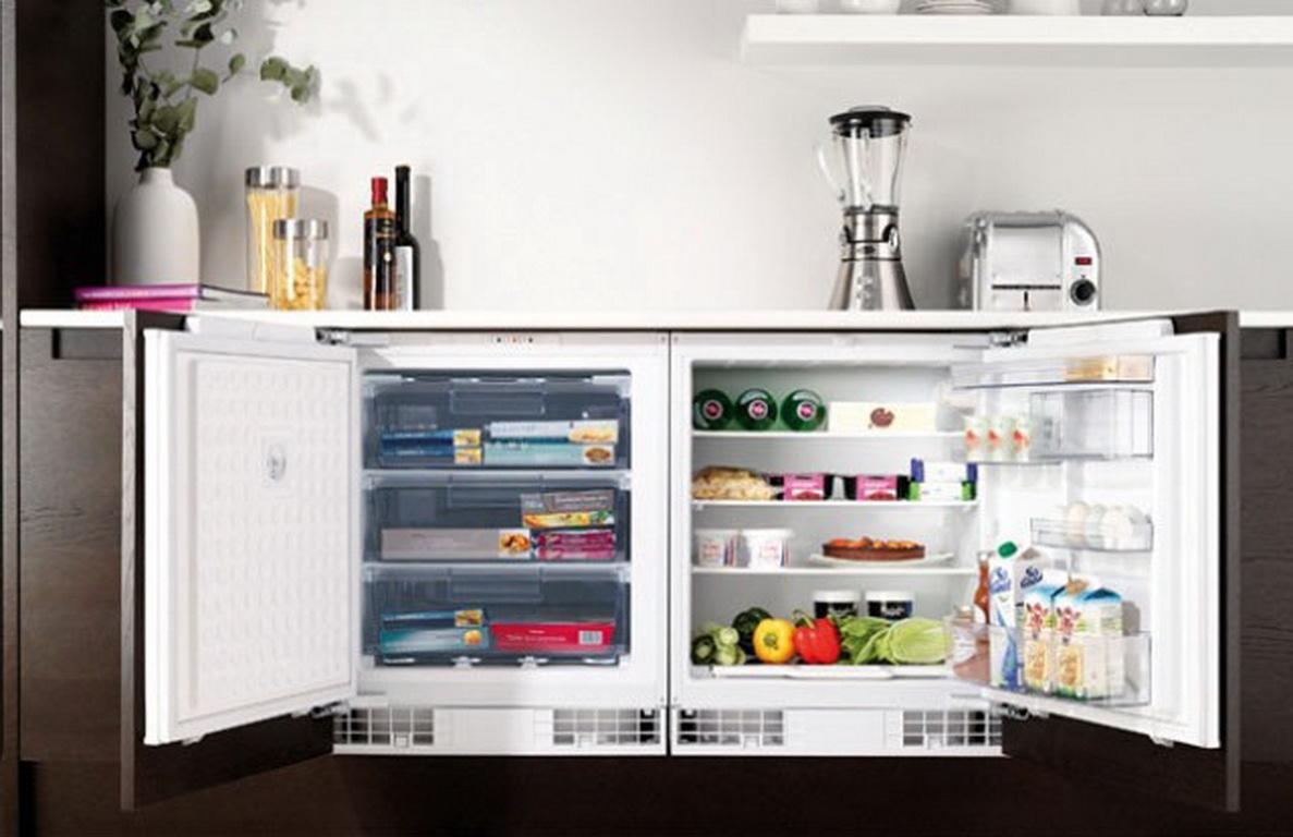 Indesit buzdolabı ağırlığı: ahşap modeller ve standart mini modeller için  küçük boyutlar