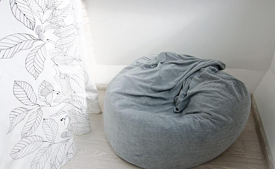Pouf Ikea Comme Le Fauteuil Moelleux Sans Cadre Olme S