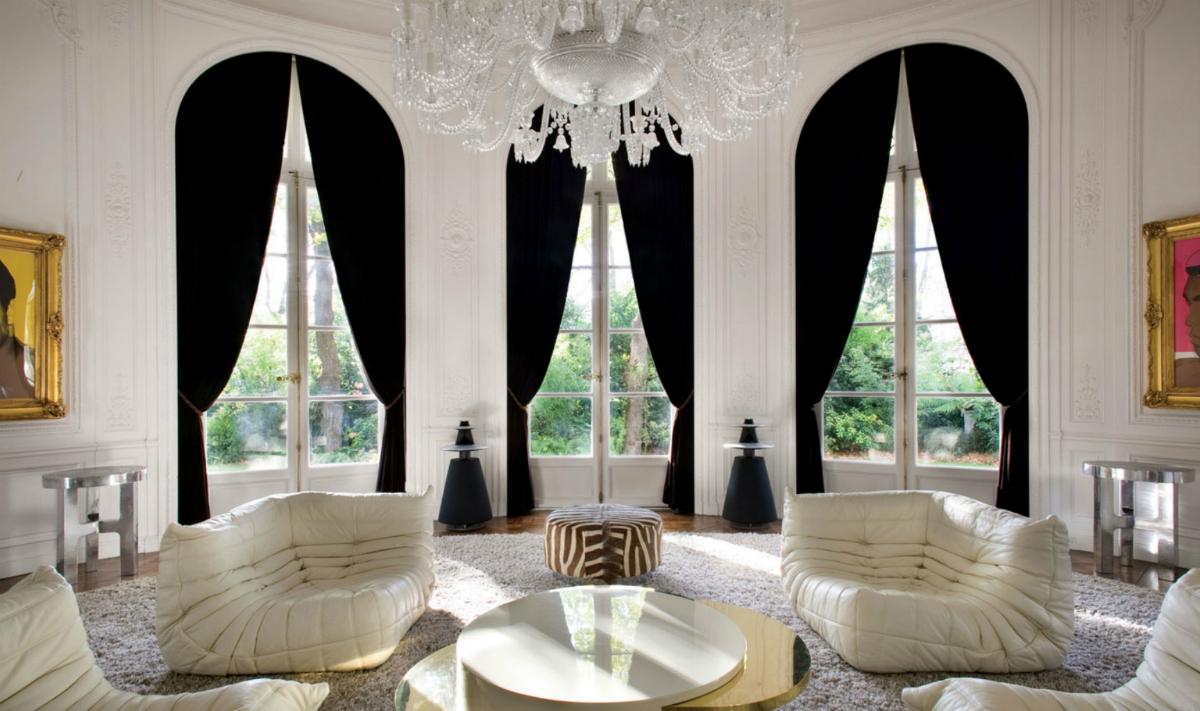 Tirai Hitam 54 Gambar Langsir Hitam Dan Putih Tebal Di Pedalaman Pilihan Untuk Ruang Tamu Dan Bilik Tidur