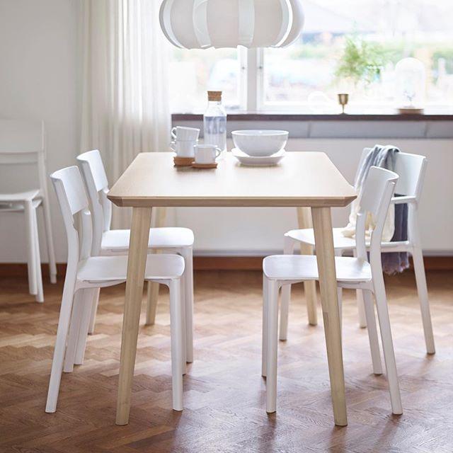 Mesas de cocina Ikea (35 fotos): mesas y sillas para la ...