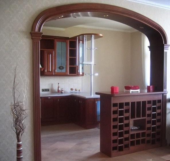 Arco interno all\'interno (59 foto): design di bellissimi ...