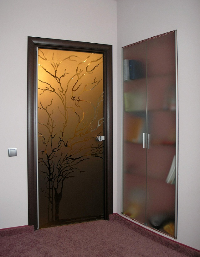 estilos de puertas para habitaciones Puertas De Vidrio 61 Fotos Puertas Interiores De Vidrio