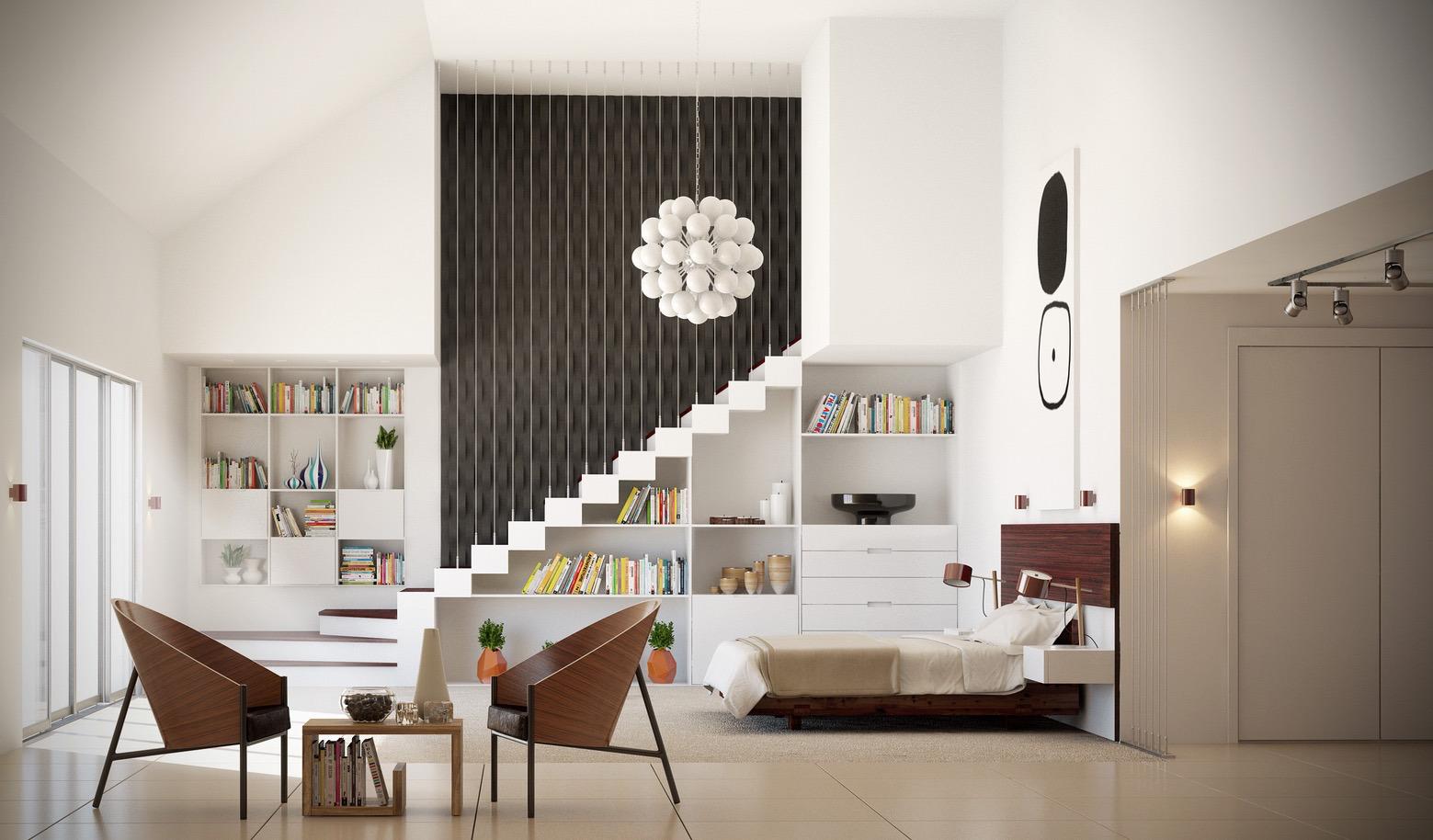 تصميم شقة من غرفة واحدة 42 مربع م 31 صور مشروع مع تخطيط ممتاز أفكار التصميم الداخلي مثيرة للاهتمام