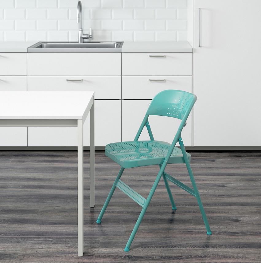 Le Sedie Di Ikea.Sedie Pieghevoli Ikea Struttura In Plastica Pieghevole Di