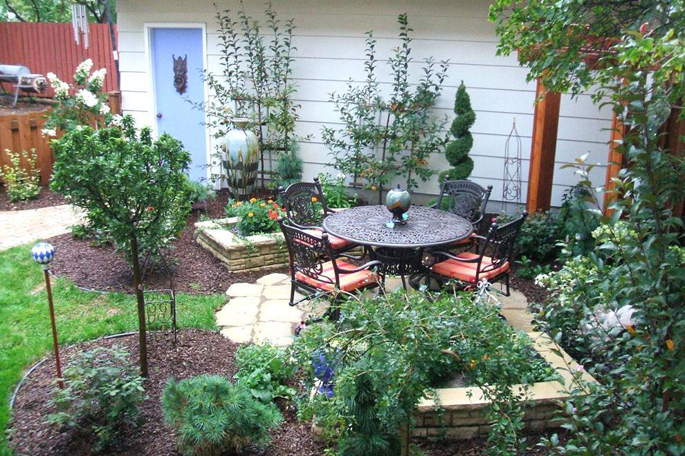 hermosos diseños de patio con jardín Diseo Del Rea Del Jardn Con Un Rea De 6 Acres Con Sus