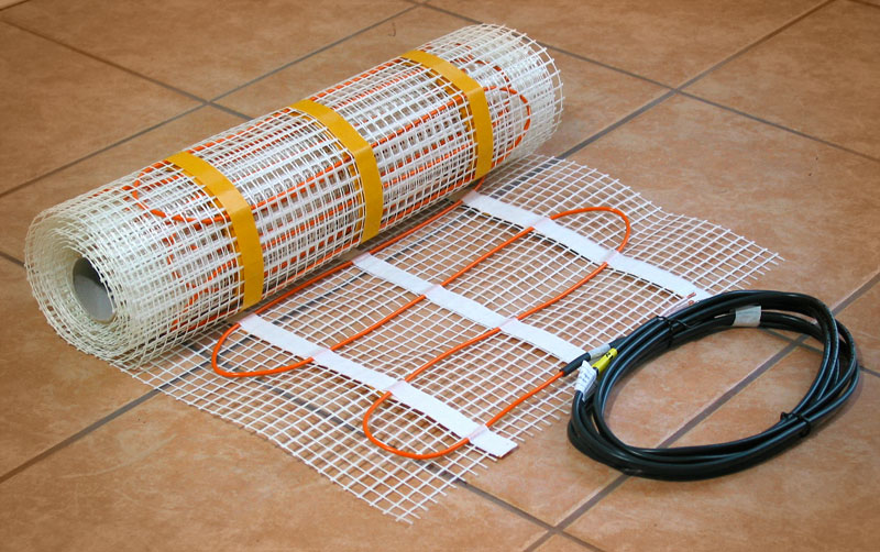 Cable For Underfloor Heating Carbon Its Cross