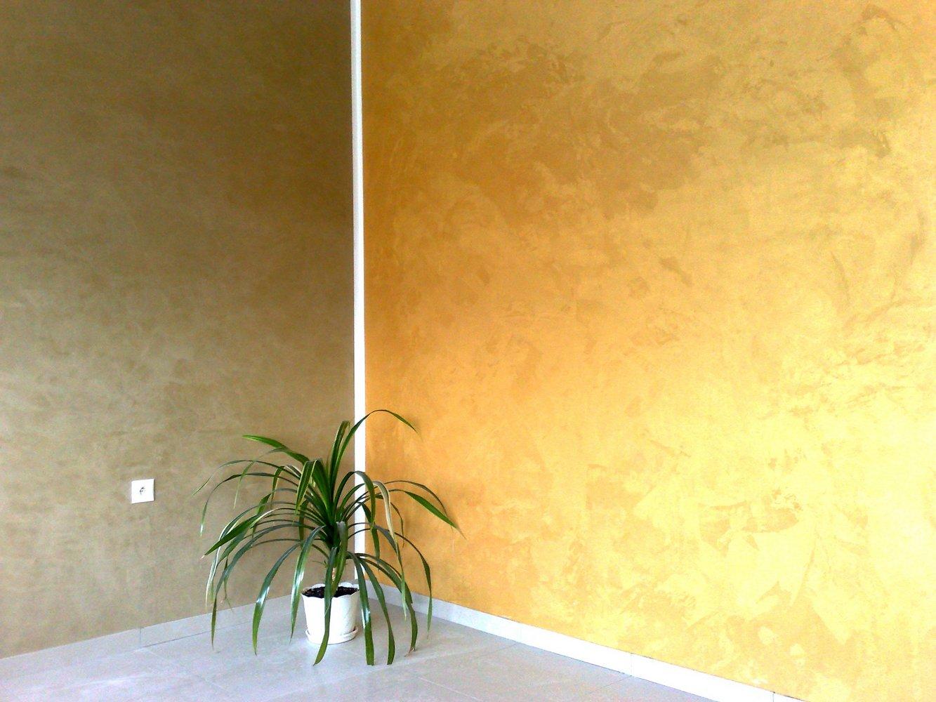 Effetti Pittura Pareti Interne.Pittura Murale Decorativa Ad Effetto Seta 39 Foto Pittura