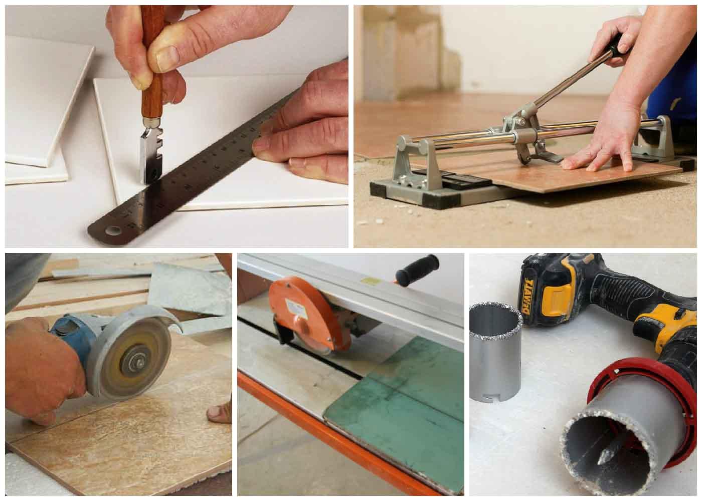كيفية قطع البلاط مع قطع البلاط كيفية قطع بلاط السيراميك مع أداة يدوية ما يجب استخدامه لقطع إذا لم يكن هناك قطع البلاط