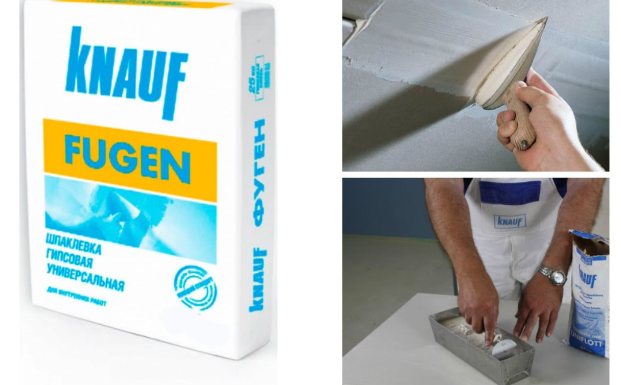 Knauf Fugen putty: putty consumption per 1 m2, starting